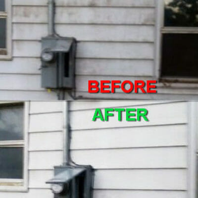 power washing brick house - power washing house siding- power washing your house