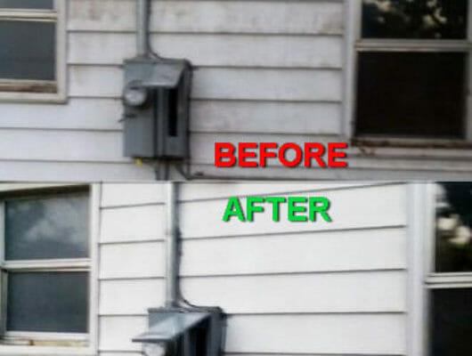 power washing brick house - power washing house siding- power washing your house